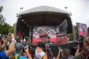 Women Elite podium